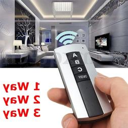1/2/3/4 Ways ON/OFF 220V Wireless Digital Remote Control Swi