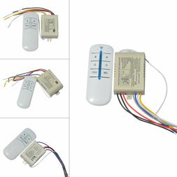 1/2/3/4 Ways ON/OFF 220V Wireless Receiver Lamp Light RF Rem