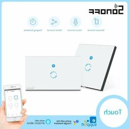 Sonoff 1 2 3 Gang Smart WiFi US/UK/EU Panel Touch Switch Wal