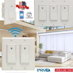 1 2 3 gang smart wifi wall