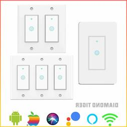 1/2/3 Gang WiFi Smart Switch Smart Light Switch Remote Contr