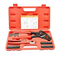 """IWISS F1807 1/2""""&3/4"""" Combo Copper Ring Crimping Tool for Pe"""