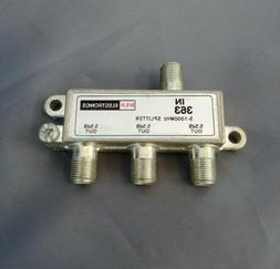 DLS 3-Way 5-1000 MHz Cable TV/Antenna Splitter