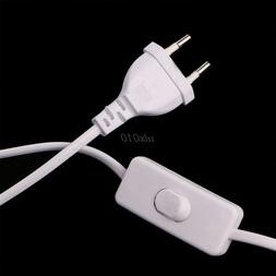1.8m On Off Power Cord For LED Lamp with Button <font><b>swi