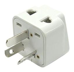 2 in 1 Australia Travel Adapter For TYPE I Plug - Works With