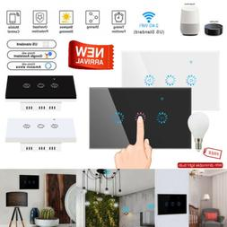 1 Gang Smart WiFi Touch Light Dimmer Switch Panel for Alexa