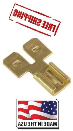 """3 WAY Female/Double Male .250 1/4"""" WIRE CONNECTOR MADE IN U"""