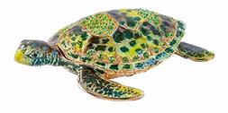 Ciel Collectables 1013176 Sea Turtle Decorative Trinket Box