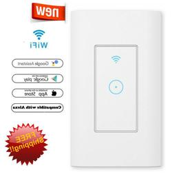 110V Smart WiFi Light Switch Compatible With Amazon Alexa Go