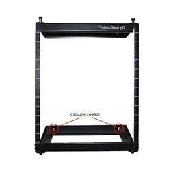 DynaCable 12U 19-Inch Open Frame Swing Out Rack Mount for Ne