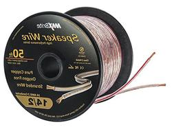 High Performance 14 Gauge Speaker Wire, Oxygen Free Pure Cop