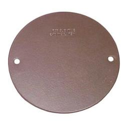 Sigma Electric 14241BR Round Blank Stamped Cover,  Bronze