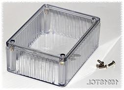 Hammond 1591STCL Translucent Polycarbonate Project Box -- In
