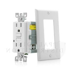 15A Amp GFCI GFI Tamper Resistant Safety Outlet Receptacle w