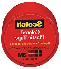 3M COMPANY 191RED Plastic Tape
