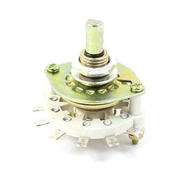 1P8T 1 Pole 8 Position Ceramic Band Channel Rotary Switch Se