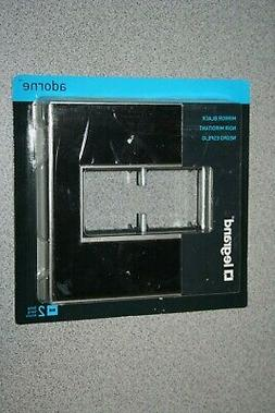 2-Gang 2 Module Wall Plate for Light Switch Dimmer, Mirror B