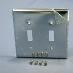 2 Gang Double Light Switch Wallplate Wall Plate Outlet Cover
