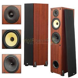 "2 Pack 6.5"" 3-Way Tower Floor Standing Speakers Home Theater"