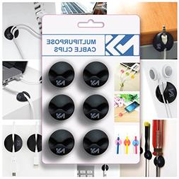 cable clips black