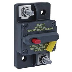 Blue Sea Systems 285 Series, Thermal Circuit Breaker, 80A