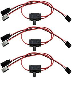 3 PACK - FUTABA Style 3 Way On/Off Switchs - Apex RC Product