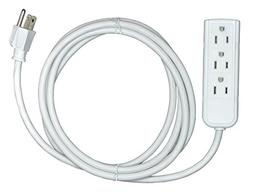Arel Best Trade 3 Outlet Extension Cord, 8 Feet Cable with E