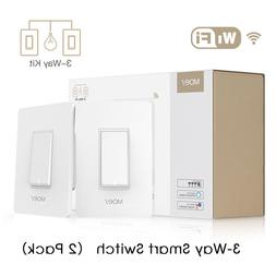 3-Way WiFi Smart Light Switch Light Control APP Remote Contr