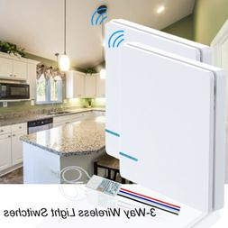 3-Way Wireless Light Lamp ON/OFF Switch Receiver for Ceiling