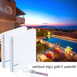 3-Way Wireless Light Switch Receiver for Ceiling Lamp LED Sw
