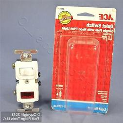 Ace 31977 White Combination Single Pole Toggle Light Switch