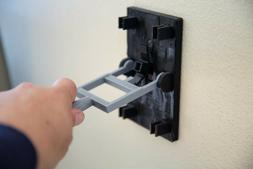 3D Printed Light Switch Cover with Flip Handle - Switch Plat