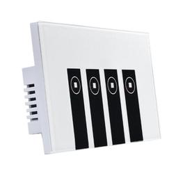 4 Gang 1 Way WIFI Smart Wall Light Touch Switch For Amazon E