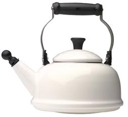 Le Creuset 1-4/5-Quart Whistling Teakettle, White