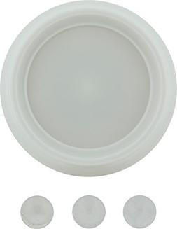 GE 50804 Plastic Dimmer Replacement Knob, White