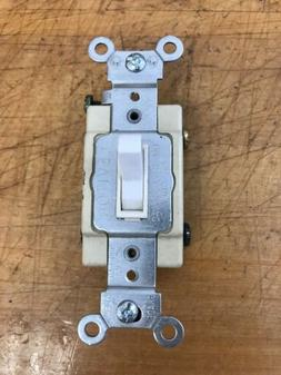 Leviton 54504-2W 15 Amp 4 Way Commercial Toggle AC Quiet Swi