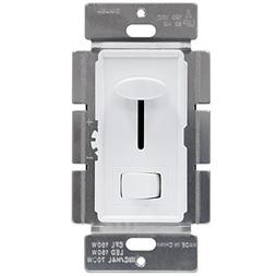 Enerlites LED Dimmer Switch with Adjustable Light Wheel, 593