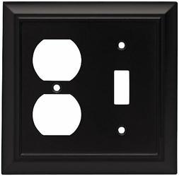 Brainerd 64213 Architectural Single Toggle Switch/Duplex Out