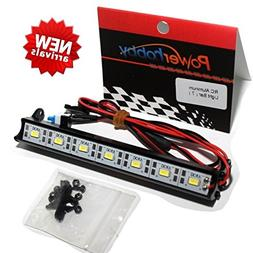Powerhobby 7 LED 121mm RC Aluminum Light Bar Kit Fits : 1/10