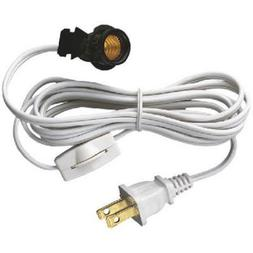 Westinghouse 70108 6-Foot Cord Set with Snap-In Pigtail Cand