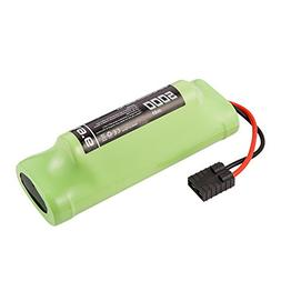 Masione 9.6V 5000mAh 8-Cell Hump Pack NiMH Battery with Univ