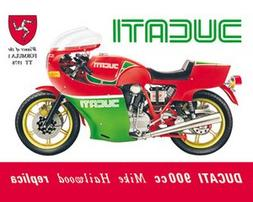 Ducati 900cc metal Sign