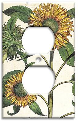 Art Plates - Sunflowers Switch Plate - Outlet Cover