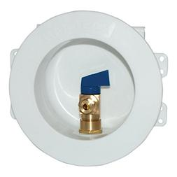 Eastman 60239 CPVC Round Mini Ice Maker Outlet Box, 1/2-Inch