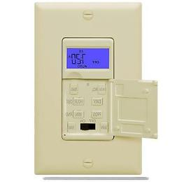 Enerlites HET01 7 Days Digital In-Wall  Programmable Timer S