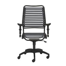 Eurø Style Baba Flat Bungie High Back Adjustable Office Cha