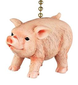 Clementine Designs Farmers Pig Decorative Ceiling Fan Light