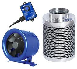 "Hyper Fan 8"" + Phresh 8"" x 24"" Carbon Filter Combo Package"