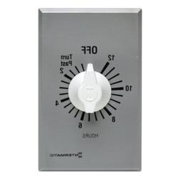 Intermatic Timer, 12 Hour Spring Wound Commercial Timer Whit