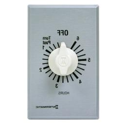 Intermatic Timer, 6 Hour Spring Wound Commercial Timer White